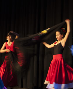 Flamenco-Aufführung Jugendliche Fin de Fiesta