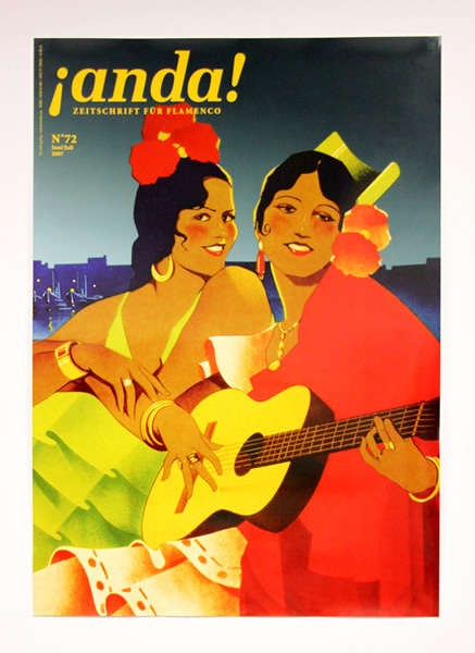 Semblanza Tanzstudios - Cover der Zeitschrift anda!